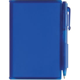 Monogrammed Composition Jotter Pad with Pen
