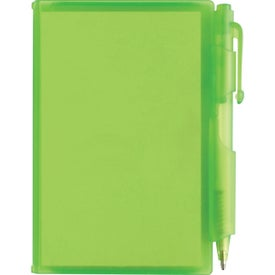 Imprinted Composition Jotter Pad with Pen