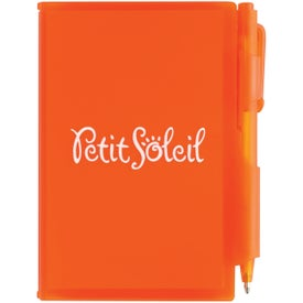 Personalized Composition Jotter Pad with Pen