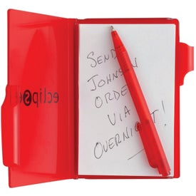 Composition Jotter Pad with Pen with Your Logo