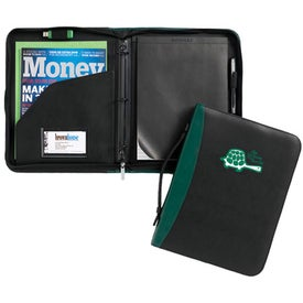 Conference Ring Folio with Your Logo