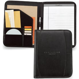 Contemporary Leather Writing Pad for Promotion