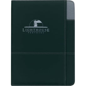 Contrast Padfolio with Your Logo