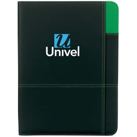 Contrast Padfolio Printed with Your Logo
