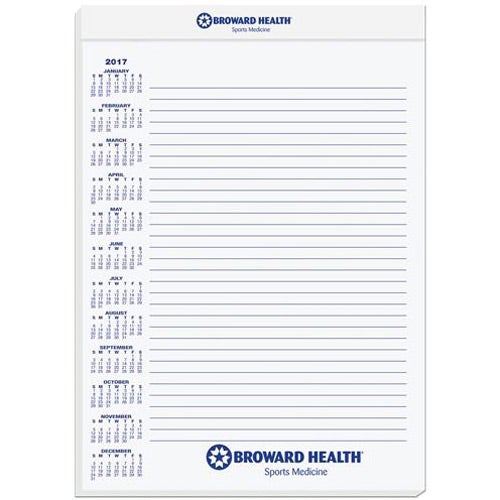 promotional legal pads with custom logo for 1 50 ea