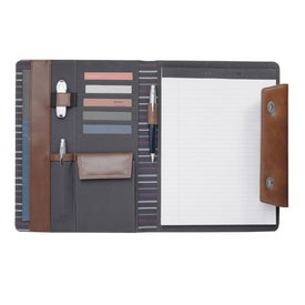Cutter and Buck Legacy Tri Fold Writing Pad Imprinted with Your Logo