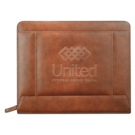 Cutter and Buck Legacy Zippered Padfolio
