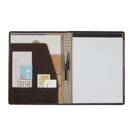 Printed Cutter and Buck American Classic Writing Pad