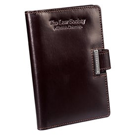 Imprinted Cutter and Buck American Classic Note Taker