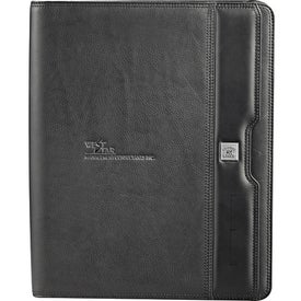Cutter and Buck Zippered Padfolio