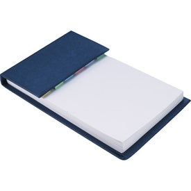 Advertising Deskpad with Sticky Notes