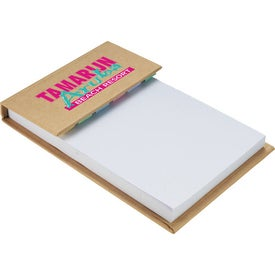Deskpad with Sticky Notes for Your Company