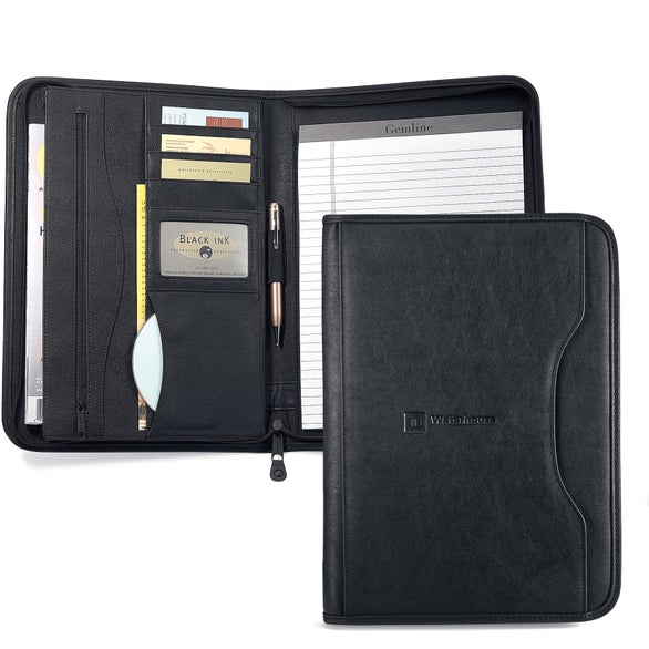 Promotional Deluxe Executive Padfolios With Custom Logo