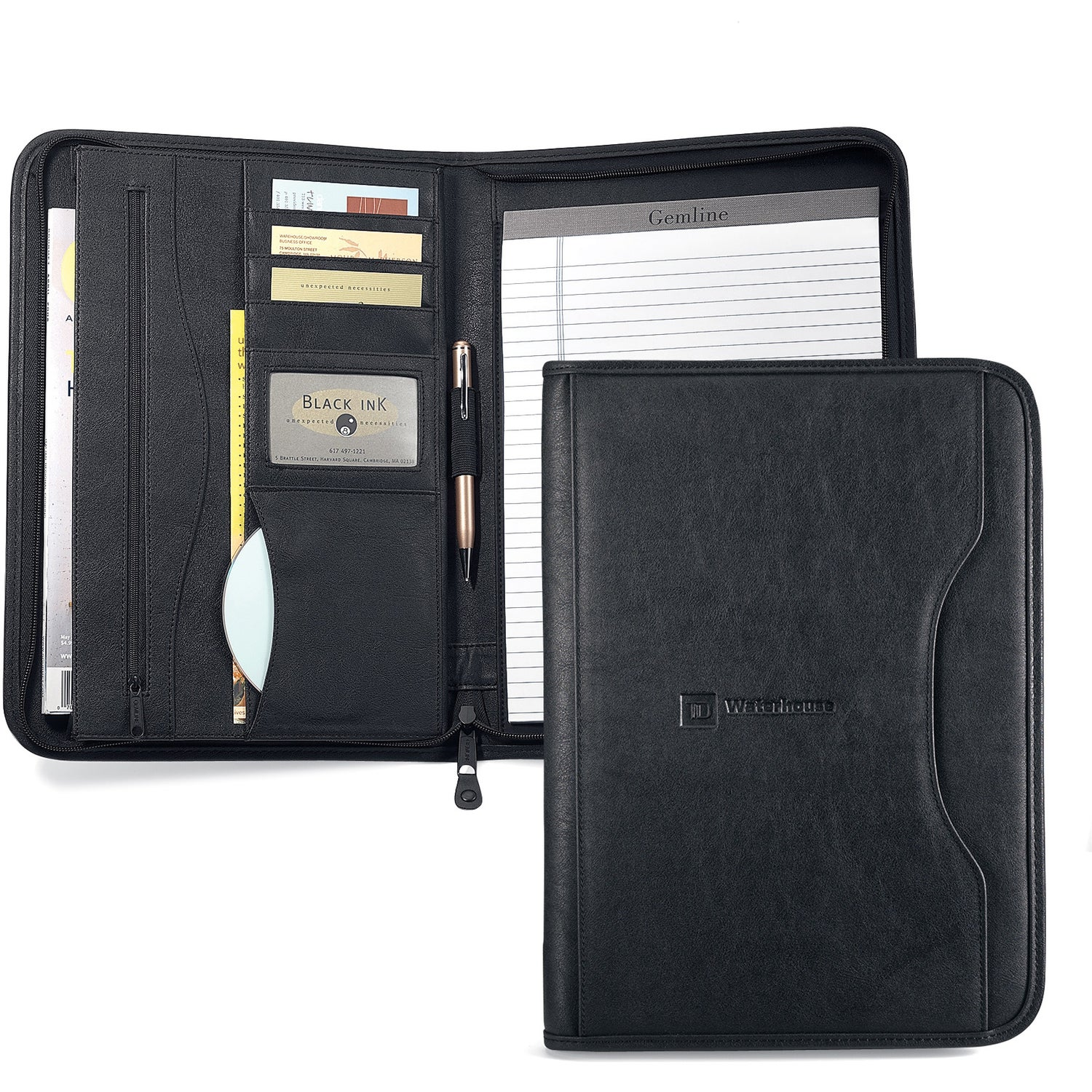 Custom Padfolios Personalized Leather Padfolios Qlp