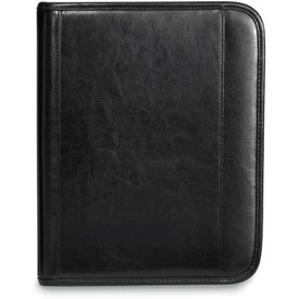 Deluxe Leather Wired-E Padfolio