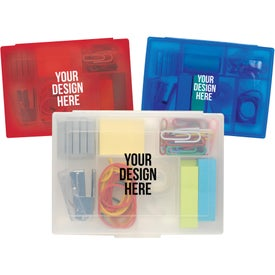 Desk in a Box Imprinted with Your Logo