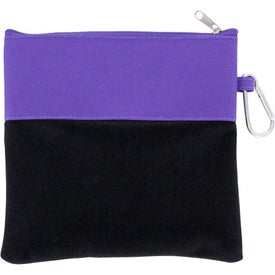 Desk-on-the-Go Pouch Imprinted with Your Logo