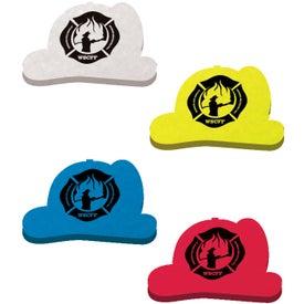 Die Cut Eraser (Fire Helmet)