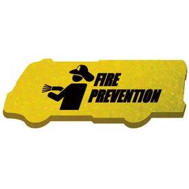 Advertising Die Cut Eraser