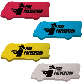 Customized Die Cut Eraser