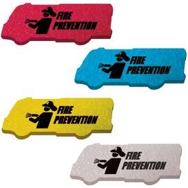 Customized Die Cut Eraser