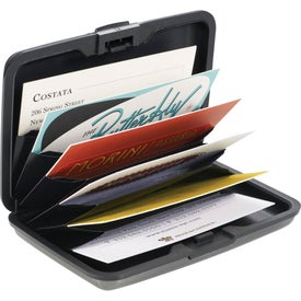 Advertising Discovery Aluminum Card Case