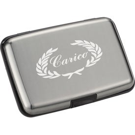 Branded Discovery Aluminum Card Case