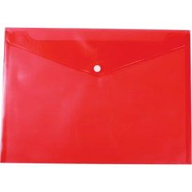 Monogrammed Document Envelope