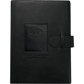 Dovana Large Journal Book Imprinted with Your Logo