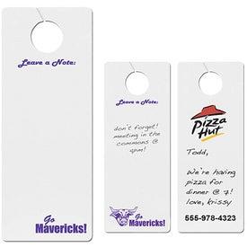 Dry Erase Door Hanger