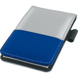 Dual Tone Silver Super Jotter for Your Company