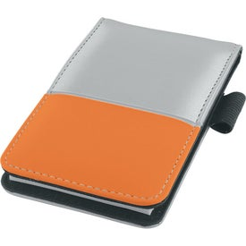 Dual Tone Silver Super Jotter for Customization