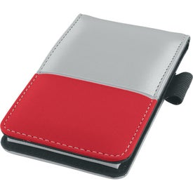 Dual Tone Silver Super Jotter for Advertising