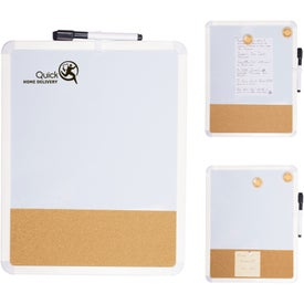 Duo White Board and Cork Board