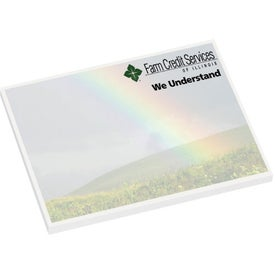 "Earth Friendly Adhesive Notes (25 Sheets, 4"" x 3"")"