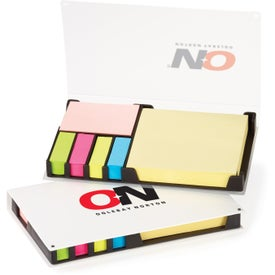 Imprinted Customizable Easi-Notes Box