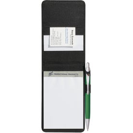 Eclipse Bonded Leather Flip Open Jotter