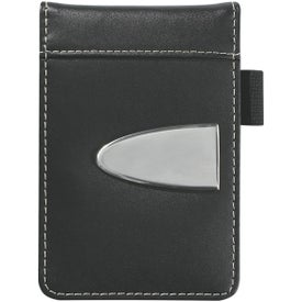 Customized Eclipse Bonded Leather Flip Open Jotter