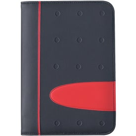 Eclipse Zippered Portfolio with Calculator for Customization