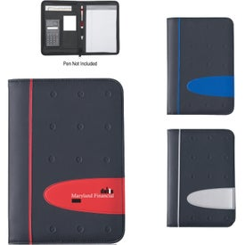 Eclipse Zippered Portfolio with Calculator