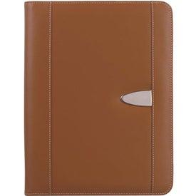 Custom Customizable Eclipse Bonded Leather Portfolio
