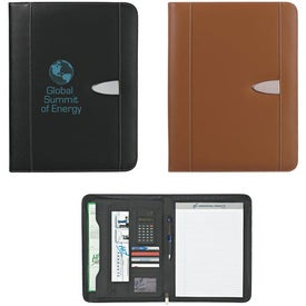 Promotional Customizable Eclipse Bonded Leather Portfolio