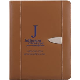 Eclipse Bonded Leather Portfolio Branded with Your Logo