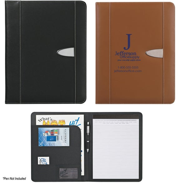 Eclipse Bonded Leather Portfolio