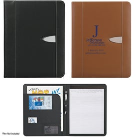 "Eclipse Bonded Leather Portfolio (8 1/2"" x 11"")"