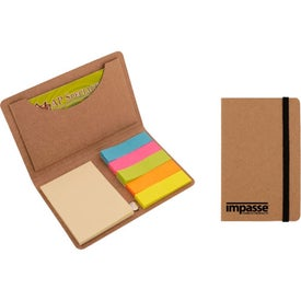 Eco Card and Sticky Note Holder for Advertising