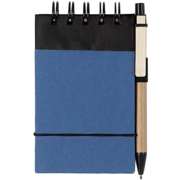 Blue Eco Friendly Jotter and Pen