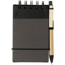 Promotional Eco Friendly Spiral Jotter and Pen