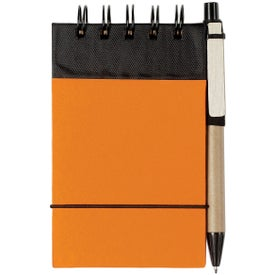 Eco Friendly Spiral Jotter and Pen for Customization