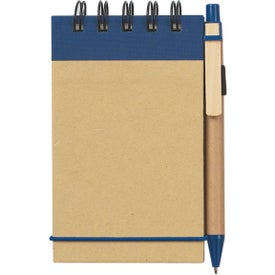 Eco Friendly Spiral Jotter and Pen with Your Slogan